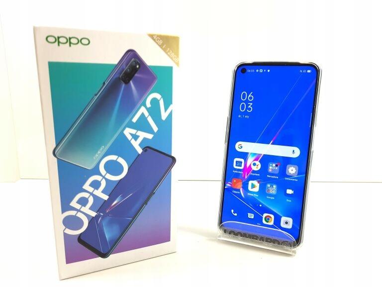 TELEFON OPPO A72 4GB/128GB/5000MAH GWARANCJA 2LAT