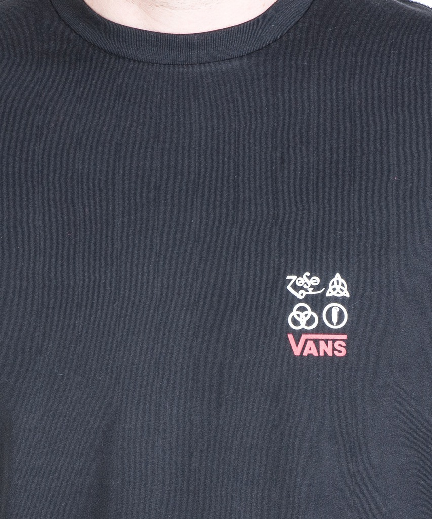 Koszulka męska Vans x Led Zeppelin VA45C8BLK | CZARNY | kup