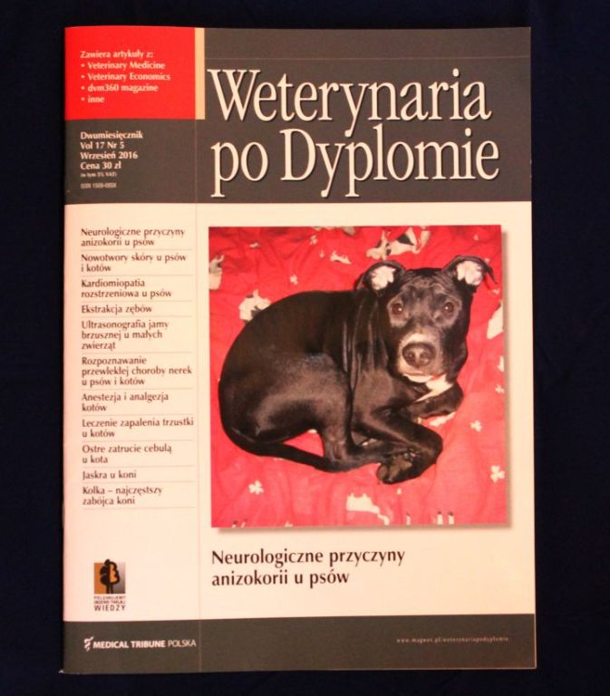 Magazyn Weterynaria po dyplomie Vol17 nr5 2016 now