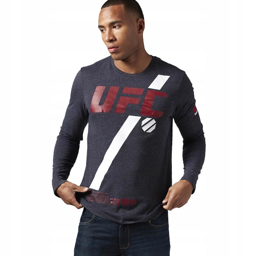 Oficjalna koszulka REEBOK UFC FAN MMA męska 2XS