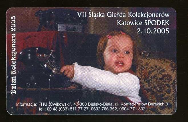KARTA TELEFONICZNA - GIEŁDA - ZUŻYTA