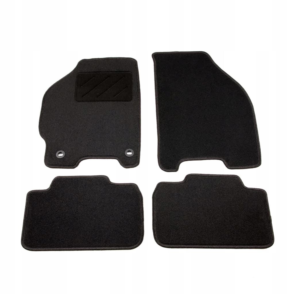 4-częściowy zestaw dywaników samochodowych do Fiat