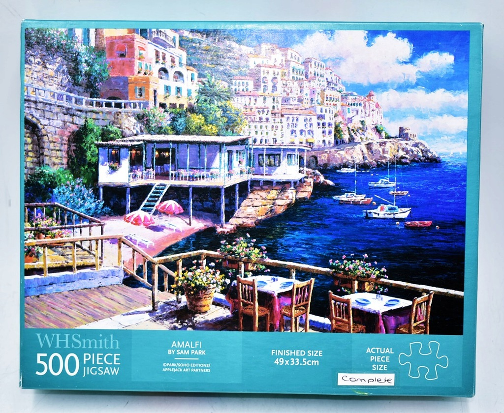9107-32 ...WH SMITH... a#g PUZZLE 500 GRECJA