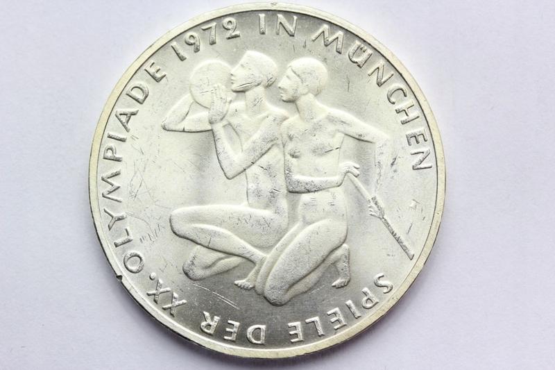 10 MAREK NIEMCY 1972-F- OLIMPIADA w MONACHIUM - Ag