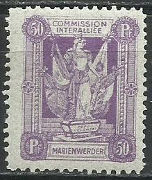 1920 PLEBISCYTY - KWIDZYN Fi 8**