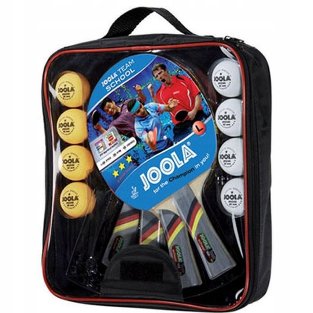 Zestaw do tenisa stołowego JOOLA SCHOOL 4 rakietki