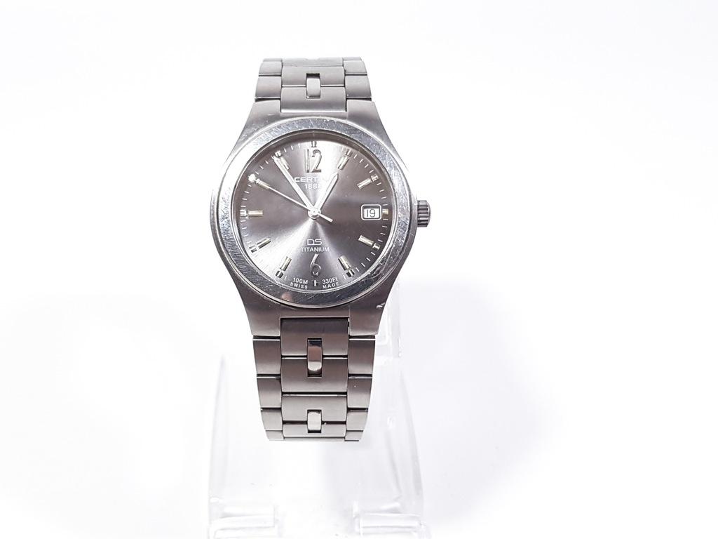 Zegarek Certina 1888 DS Titanium