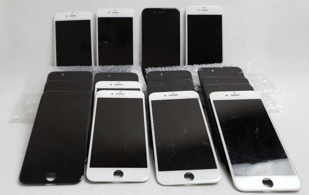 Pęknięte oryginalne wyświetlac Iphone 7 PLUS 5szt