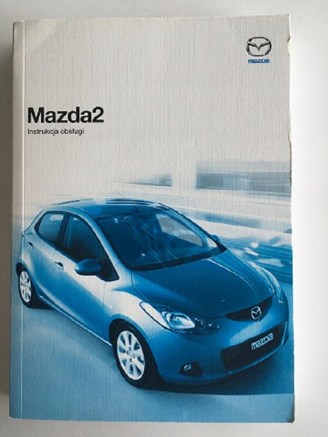 Mazda 2 (DE) - instrukcja obsługi - język polski!