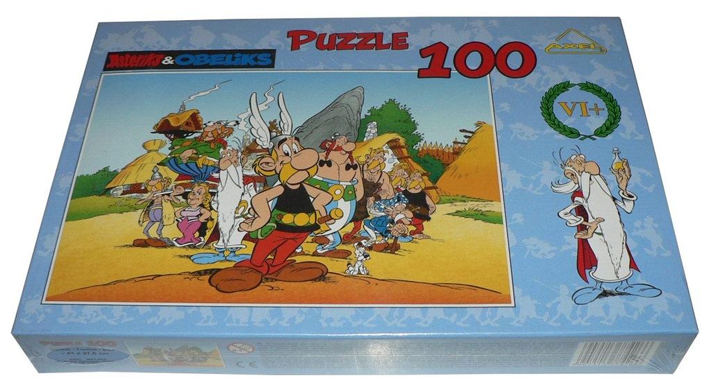 PUZZLE 100 - Asteriks i Obeliks --- FOLIA !!!!!! c