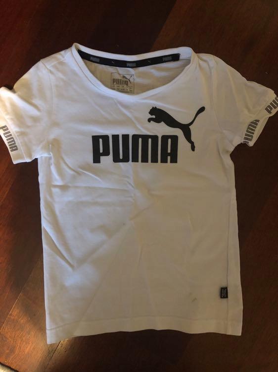 T-shirt PUMA jak nowy rozm 110 oryginał