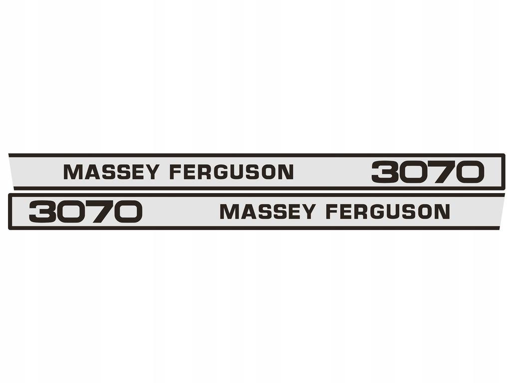 Naklejki Massey Ferguson 3070 kpl. 2szt. 96x1290mm
