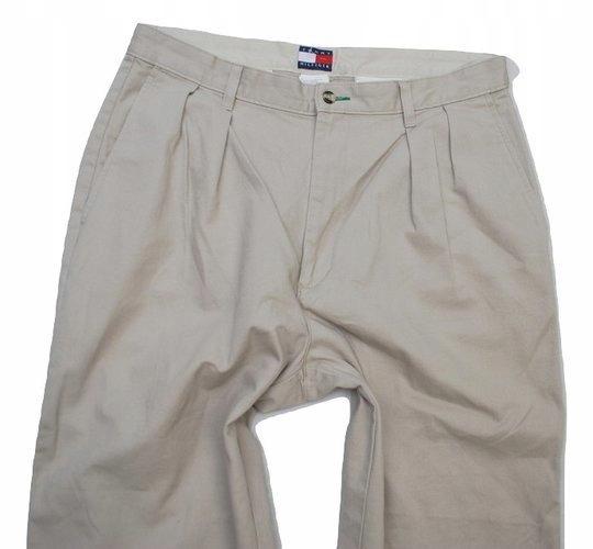 U Modne Wygodne Spodnie Tommy Hilfiger 34/30 z USA