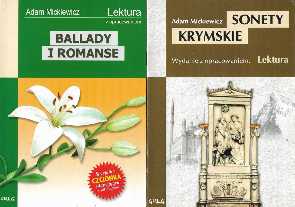 Ballady I Romansesonety Krymskie Mickiewicz Greg