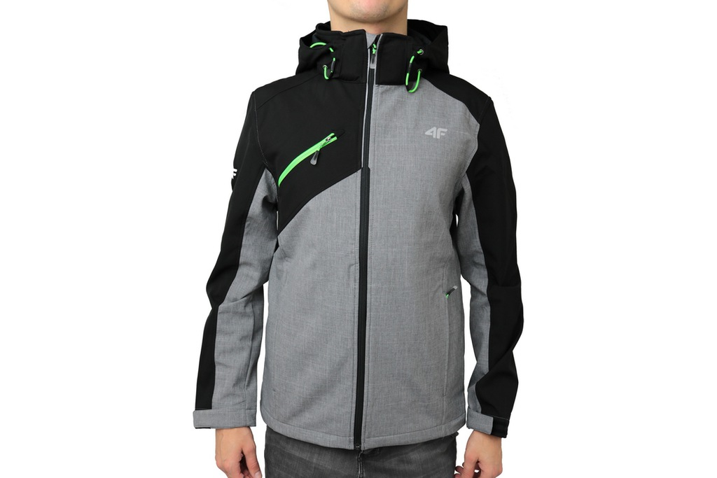 Męska Kurtka 4F SOFTSHELL MEN T4L16-SFM202GREY [S]