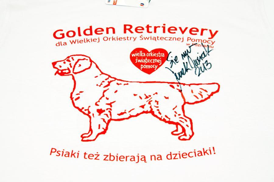 Limitowana koszulka z autografem Jurka Owsiaka!