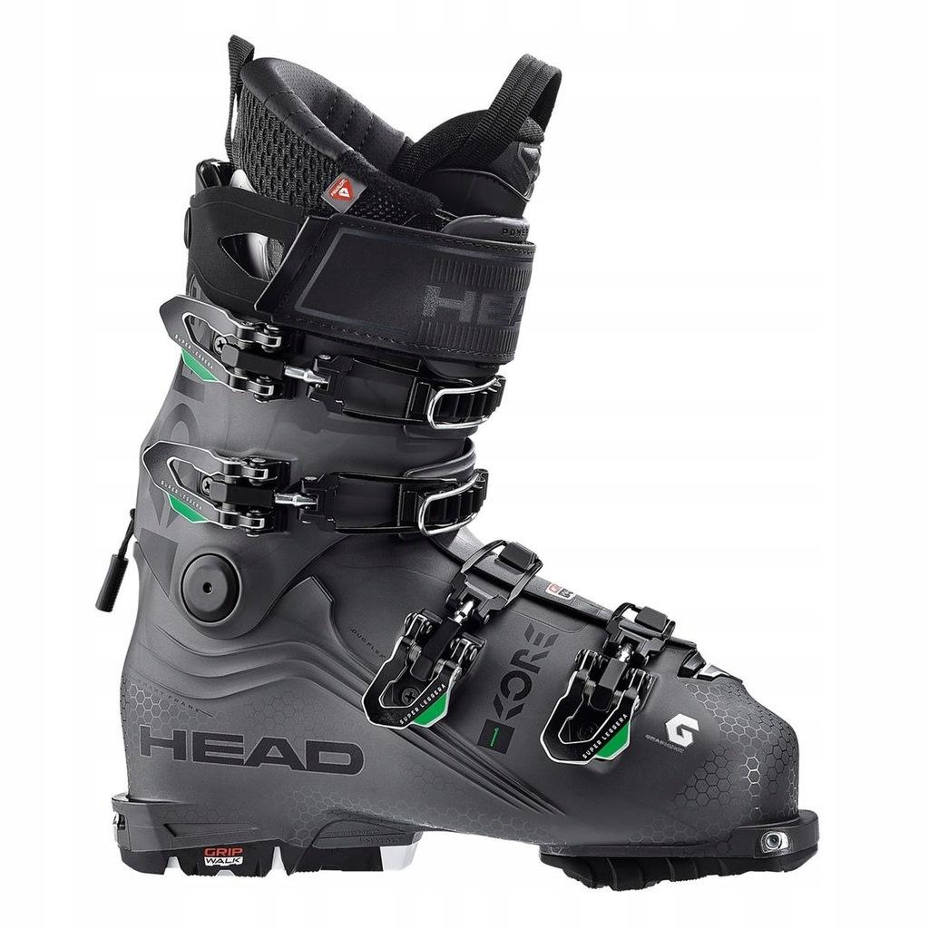 Buty narciarskie Head Kore 1 Szary 26/26.5