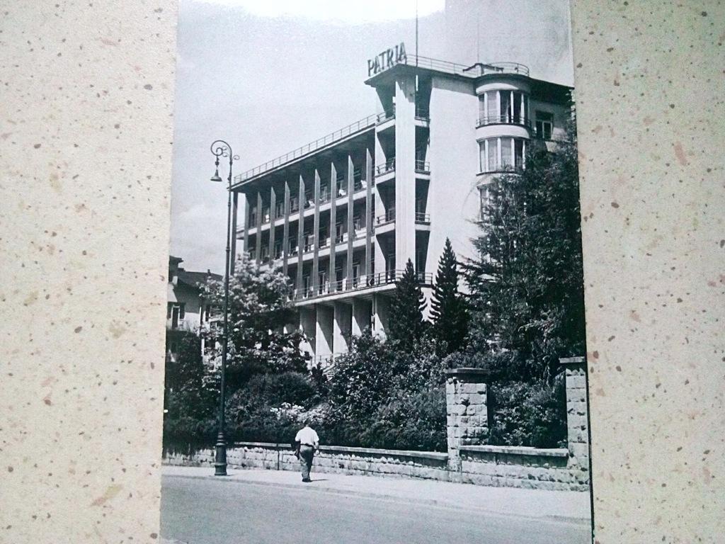 Krynica , Sanatorium ,,Patria'' 1965 rok.