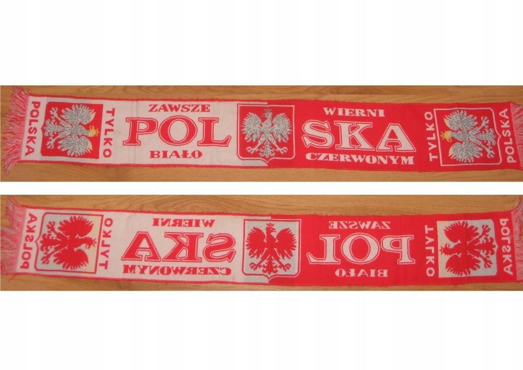 Szalik Polska Zawsze Wierni Biało-Czerwonym