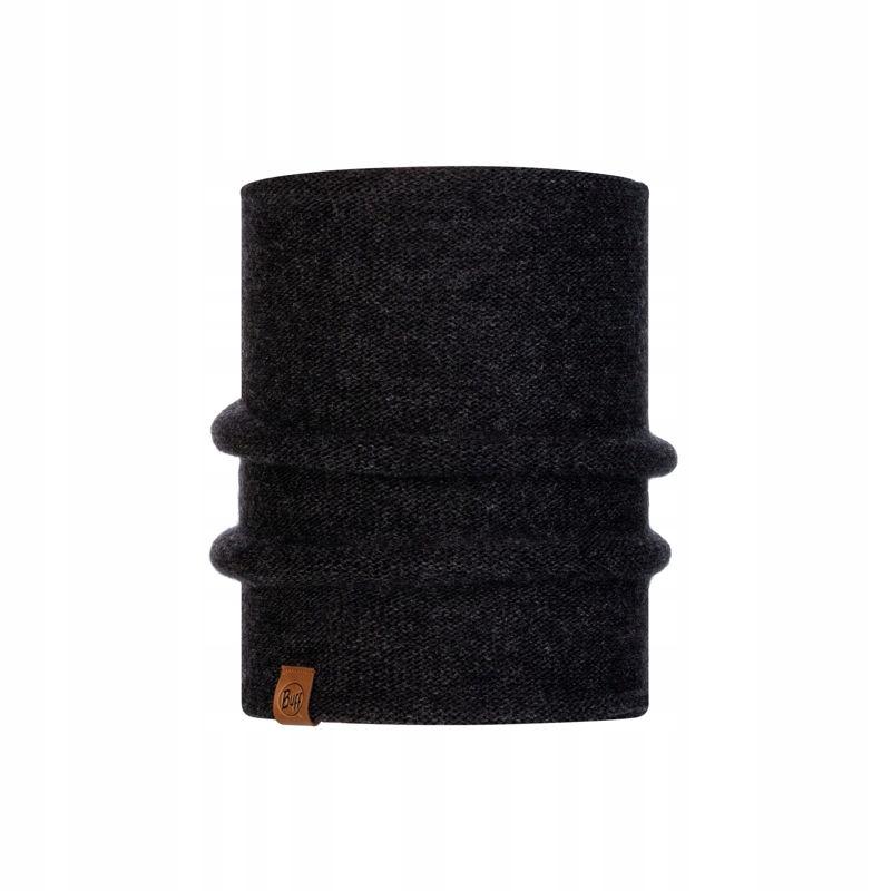 Czarny Komin Buff Knitted Neckwarmer Colt GREY
