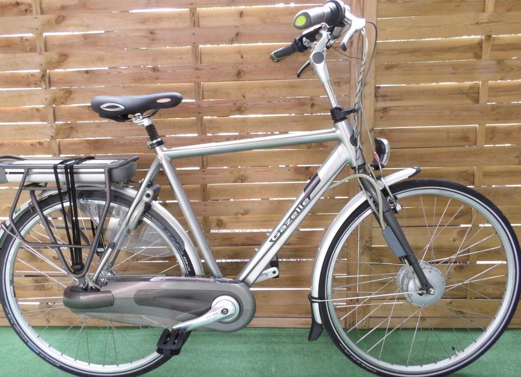 Rower elektryczny Gazelle Orange Pure. H57. I inne