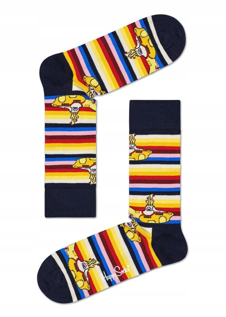 Kolorowe Skarpety Happy Socks The Beatles r. 41-46