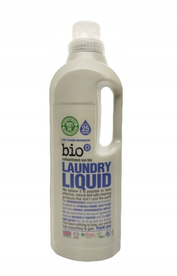 Bio-D Niebiologiczny płyn do prania 1l ekologiczny