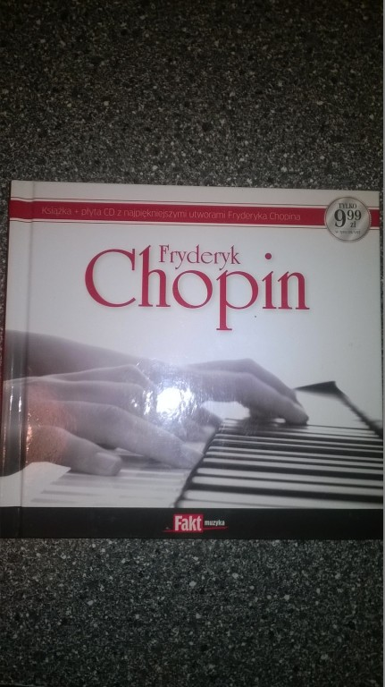 Charytatywna Fryderyk Chopin płyta