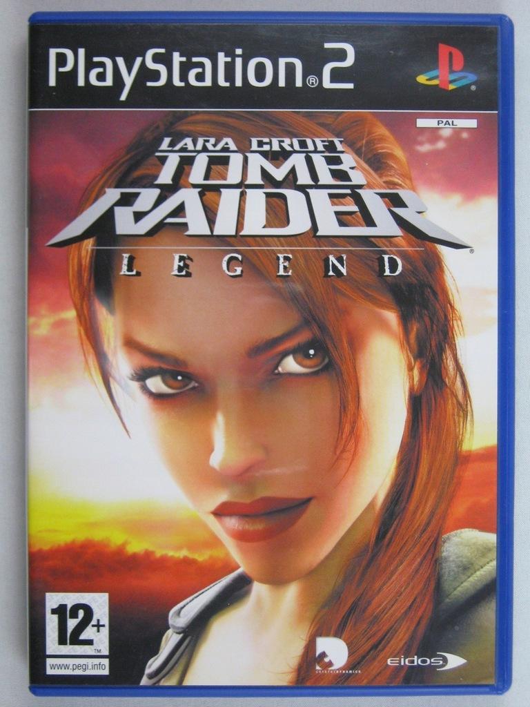 Tomb Raider Legend Ps2 Bdb 8500325818 Oficjalne Archiwum Allegro