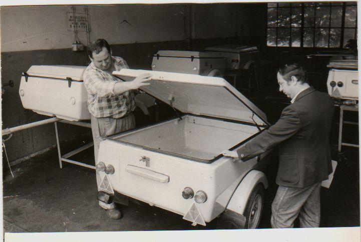 Gliwice, Przyczepy do Fiata 126 p