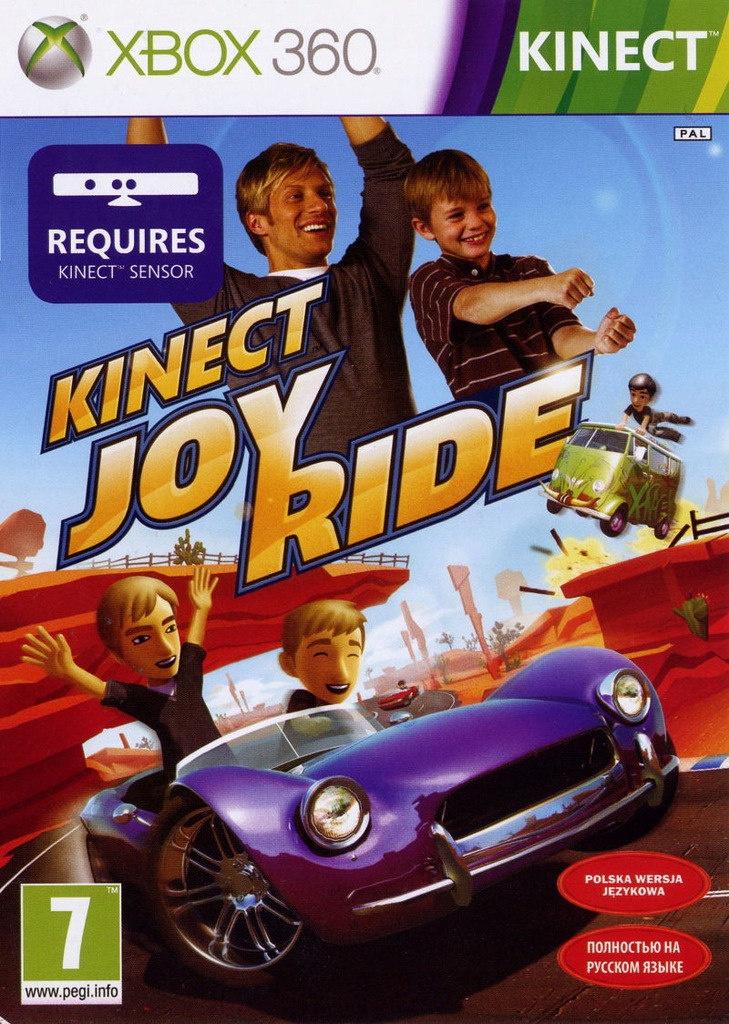 Kinect Joy Ride Xbox 360 9444479338 Oficjalne Archiwum Allegro