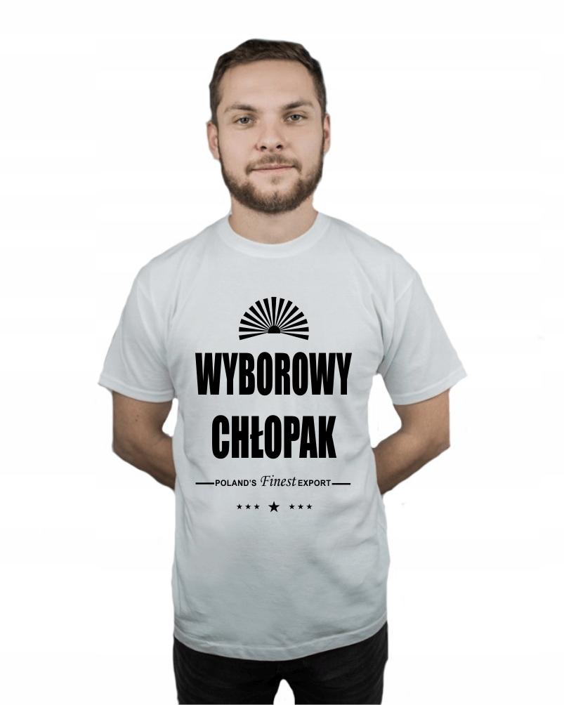 Koszulka męska WYBOROWY CHŁOPAK r XL