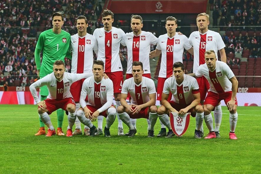 Wspólny trening z piłkarzami Reprezentacji Polski