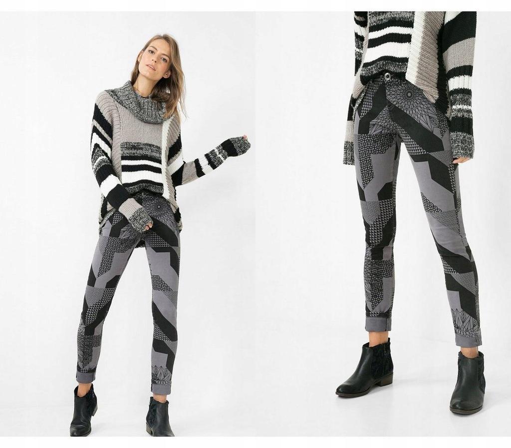 Szare spodnie geometryczne wzory (28)