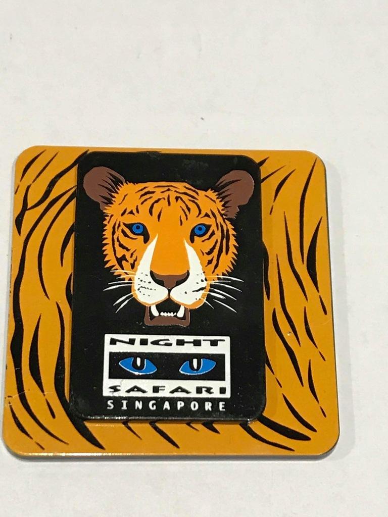 Magnes lodówkę magnez Night Safari Singapur Zoo