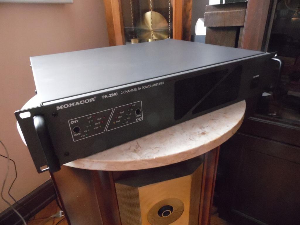Nowy Wzmacniacz PA-2240[4200zl] oraz PA1500 Gratis