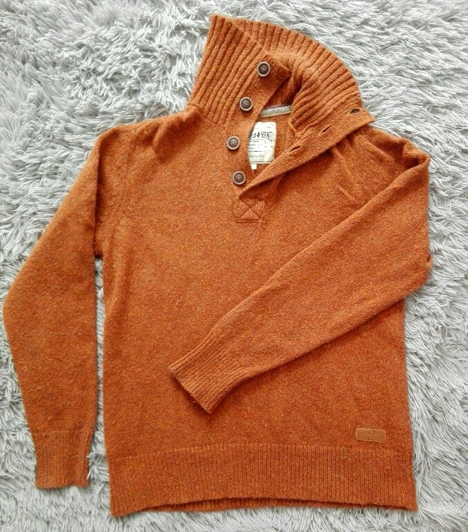 Sweter Wool cudowny XL Rugged MCS Refined