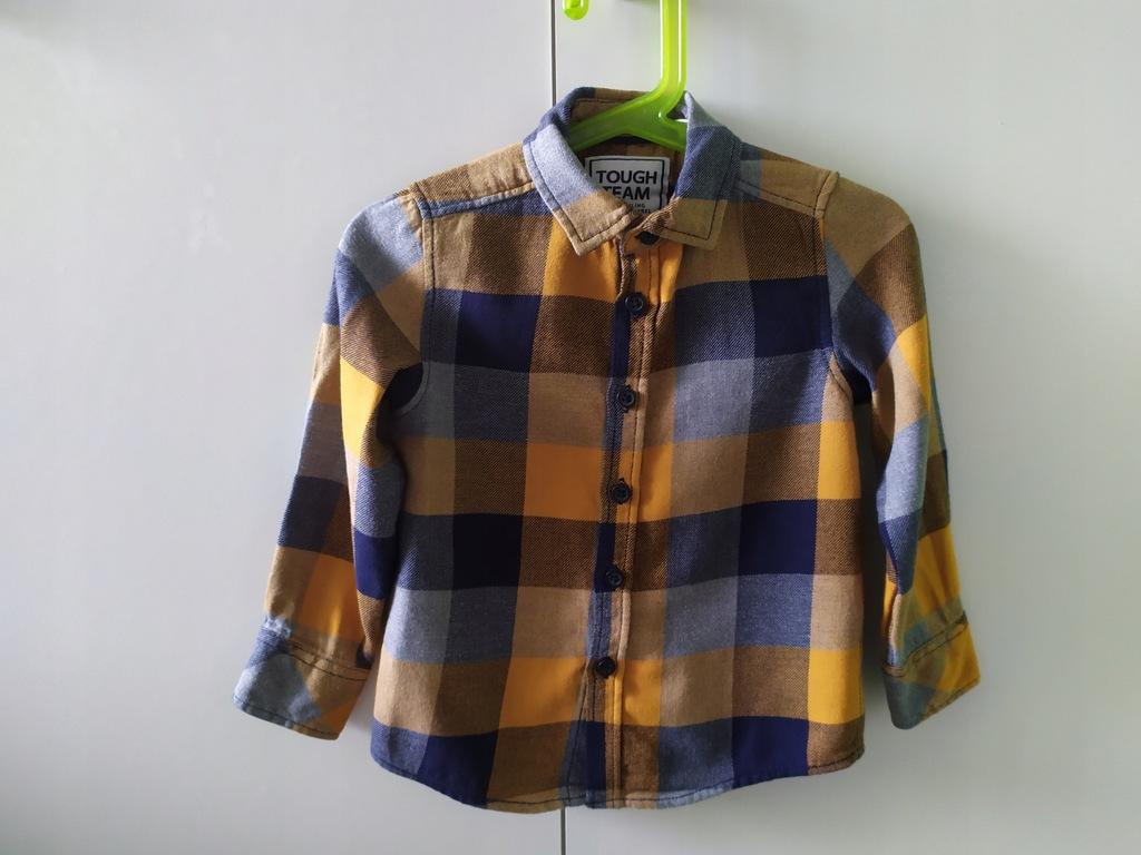 Koszula flanelowa w kratę c&a chłopiec