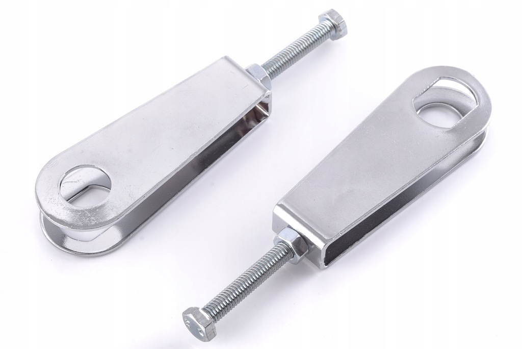 Napinacz naciąg koła łańcucha MZ ETZ 250 kpl chrom