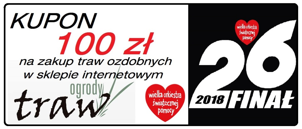 kupon 100 PLN na zakupy w OGRODY TRAW.eu