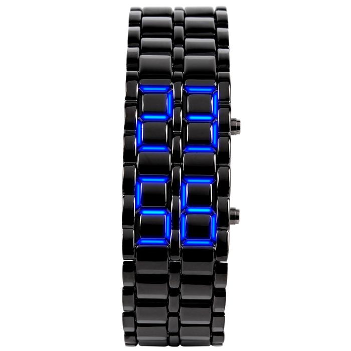SKMEI sportowy zegarek męski Binarny LED 4 kolory