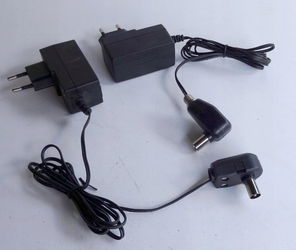 Zasilacz antenowy elektroniczny do DVB-T2- HEVEC