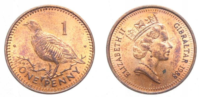 LOT - Gibraltar - 1 moneta