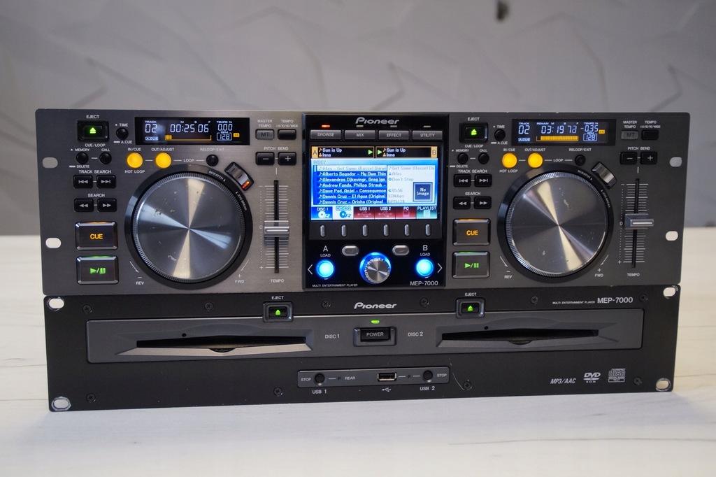 PIONEER MEP 7000 GWARANCJA CDJ 350 400