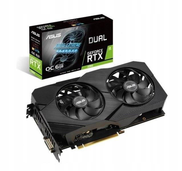 Karta graficzna GeForce RTX 2060 DUAL OC 6G EVO
