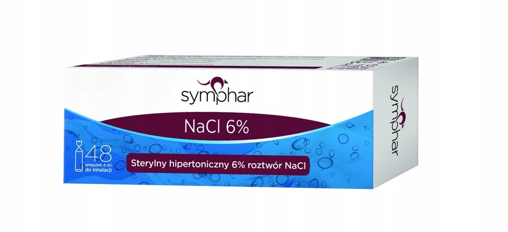 Symphar NaCl 6% 48szt