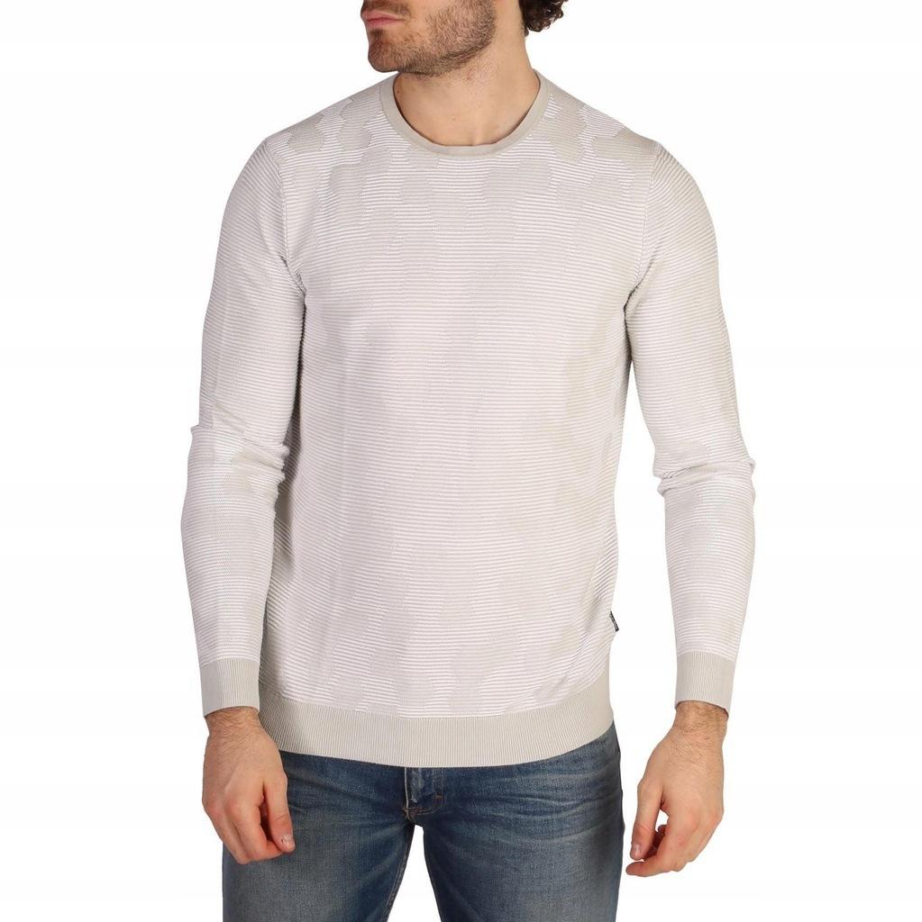 Sweter Męski Calvin Klein - K10K101026 - Biały M