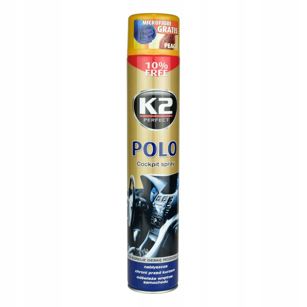 K2 POLO COCKPIT DO KOKPITU PLAK BRZOSKWINIA 750ml