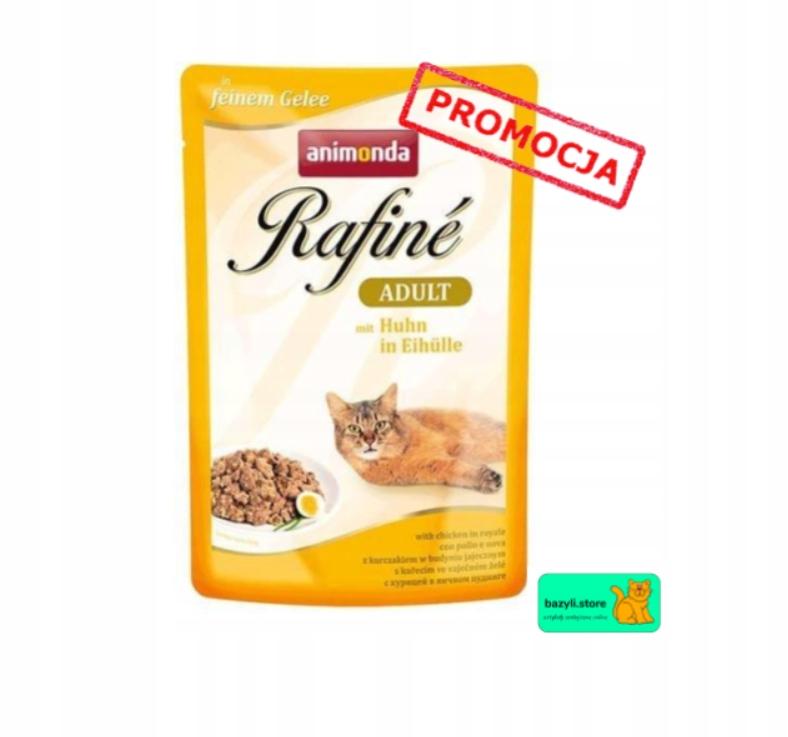 38+10 gratis! MIX pakiet Animonda Rafiné 48x100g