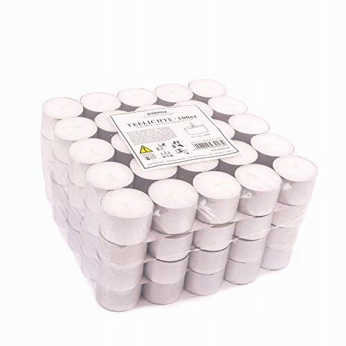 pajoma podgrzewacze świeczki tealights 95 sztuk